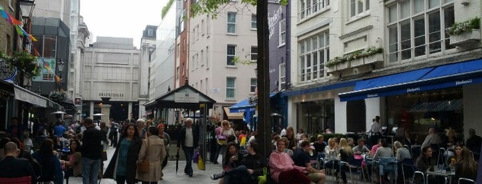 St Christopher's Place is one of Spring Famous London Story.