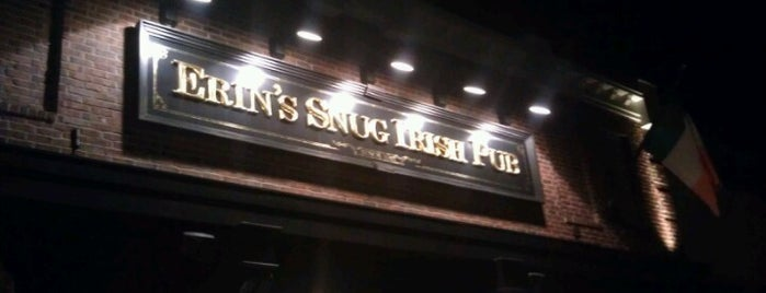 Erin's Snug Irish Pub is one of สถานที่ที่ Jay ถูกใจ.