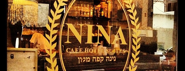 Cafè Nina is one of Tel Aviv.