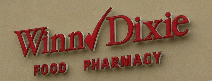 Winn-Dixie is one of Gillianさんのお気に入りスポット.