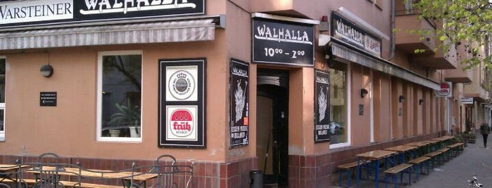 Walhalla is one of Berlin food.