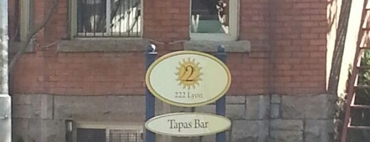 222 Lyon Tapas Bar is one of Diandriaさんの保存済みスポット.