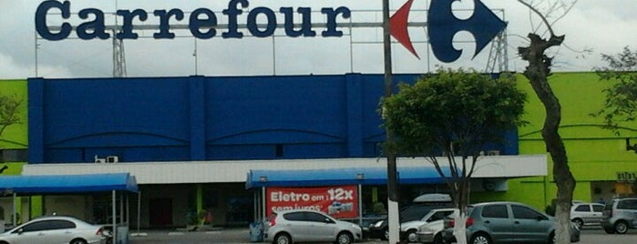 Carrefour is one of Lugares Que já dei check in!!!.