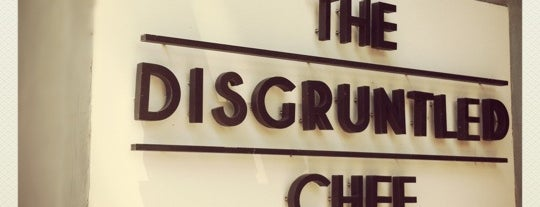 The Disgruntled Chef is one of Eats: Places to check out (Singapore).