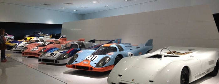 Porsche Museum is one of Stuttgart.