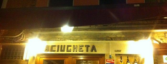 Aciugheta is one of Mangiare.