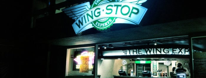 Wingstop is one of lugares para comer.