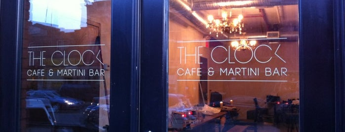 The Clock Bar is one of Locais curtidos por Benjamin.