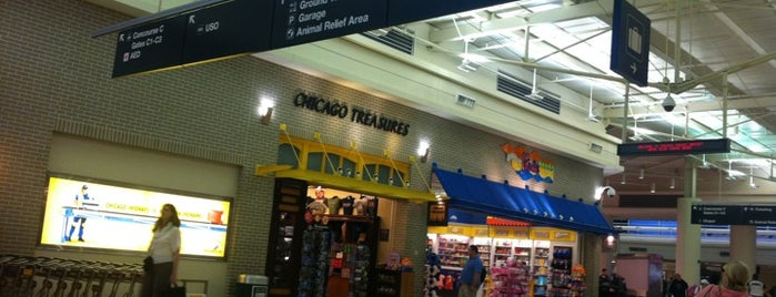 Chicago Midway International Airport (MDW) is one of สนามบินนานาชาติ (1).