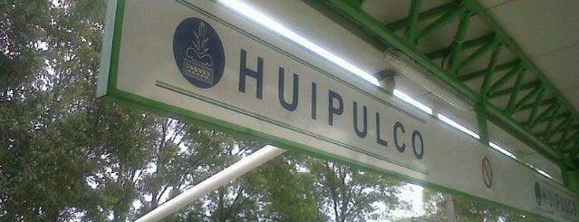 Tren Ligero Huipulco is one of Tour del sur.