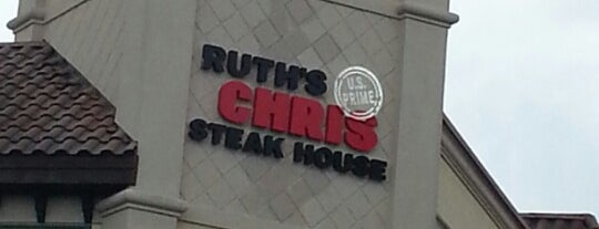 Ruth's Chris Steak House is one of Favorite Places to visit!.