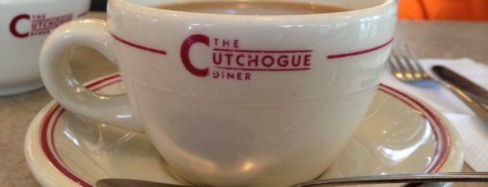 Cutchogue Diner is one of Tempat yang Disukai Swen.