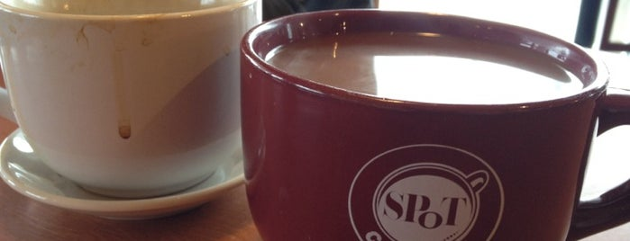 SPoT Coffee is one of WNY Hot Beverage Hangouts.
