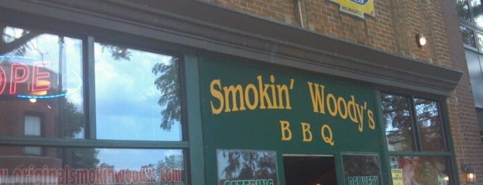 Smokin' Woody's BBQ is one of Chicago hangouts.
