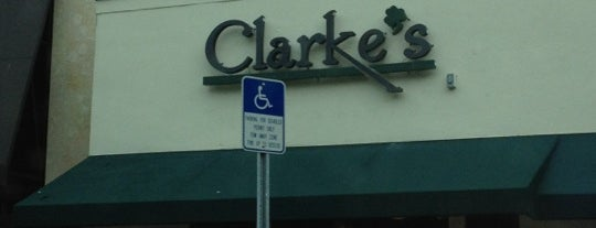 Clarke's is one of Miami Florida - Peter's Fav's.