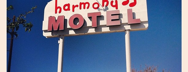 Harmony Motel is one of USA: Hotels.