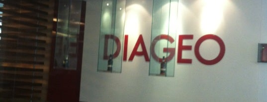 Diageo is one of Locais curtidos por Ursula.