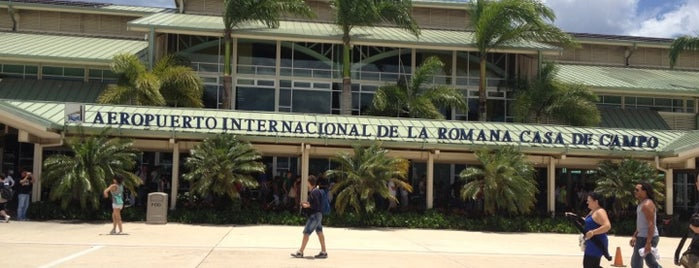 Aeropuerto Internacional La Romana (LRM) is one of Airports I've Landed.