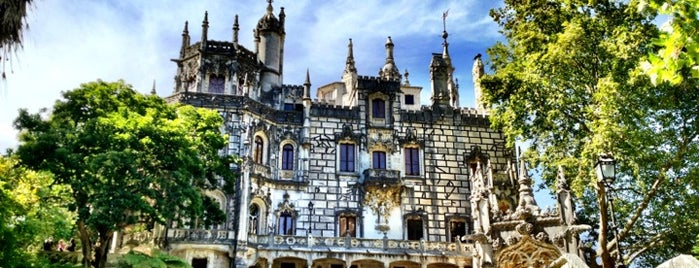 Quinta da Regaleira is one of Sintra.