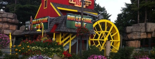 Timber Falls Adventure Park is one of 20 Fun Things to do in Wisconsin Dells, WI.