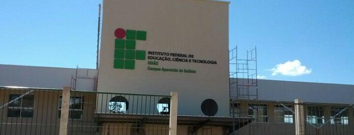 Instituto Federal de Educação, Ciência e Tecnologia de Goiás (IFG) is one of Tempat yang Disukai Donnato.
