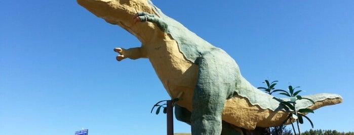 World's Largest Dinosaur is one of Alberta.