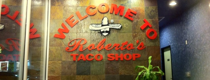 Roberto's Taco Shop is one of Locais curtidos por Jeremy.