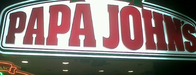 Papa John's Pizza is one of food tr.