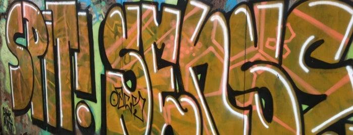 VEF graffiti parks is one of Laikam būs jāaiziet.