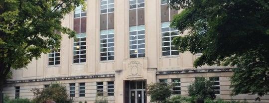 Albert R. Mann Library is one of Alyssa's Ithaca visit.