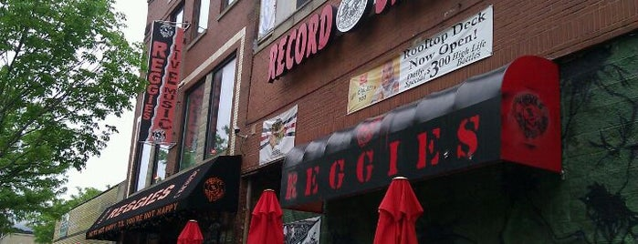 Reggie's Rock Club is one of Chicago.