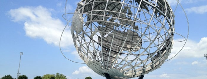 Flushing Meadows Corona Park is one of The Great Outdoors NY.
