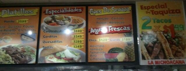La Michoacana is one of Mexican Restaurants.