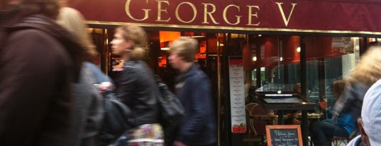Café George V is one of Paris, france.