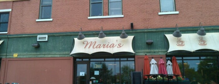 Maria's Cafe is one of Favorites.