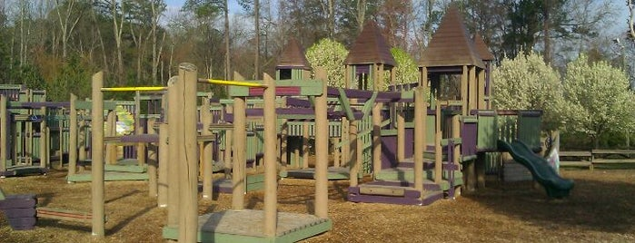 Kidstown Playground / Kelly Road Park is one of Park.