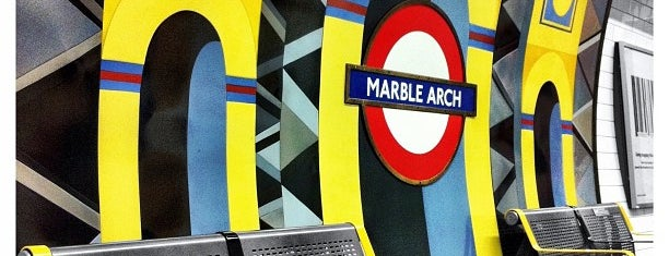 Marble Arch London Underground Station is one of Underground Stations in London.