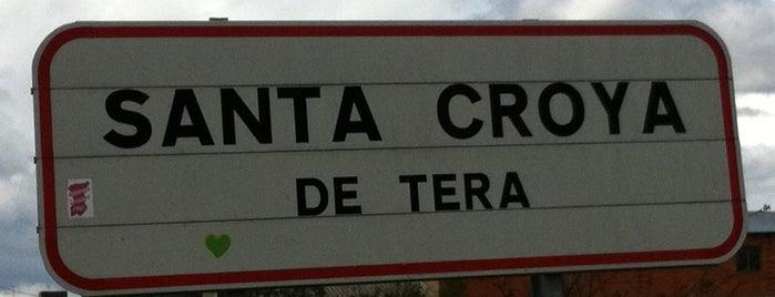 Santa Croya De Tera is one of Lugares favoritos de Jose Antonio.