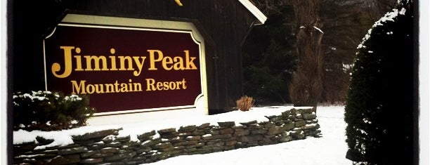 Jiminy Peak Ski Resort is one of Andy 님이 좋아한 장소.