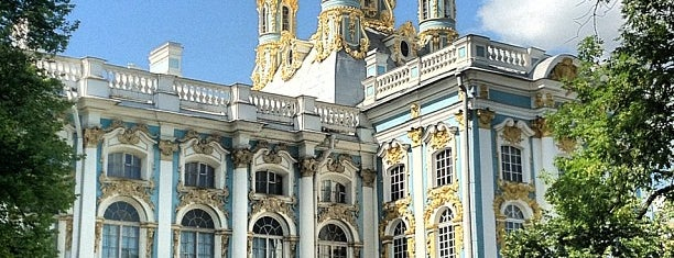 The Catherine Palace is one of St Petersburg.