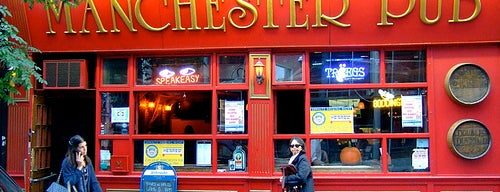 Manchester Pub is one of New York City.