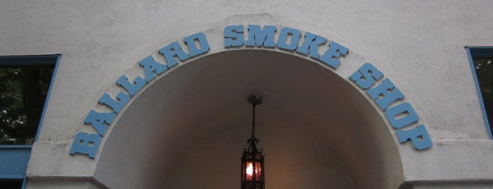 Ballard Smoke Shop is one of Dives.