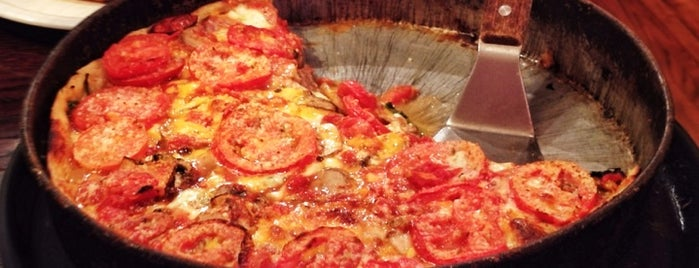 Lou Malnati's Pizzeria is one of Chicago Eats.