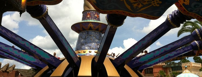 The Magic Carpets of Aladdin is one of Walt Disney World.