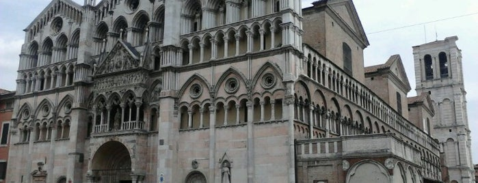 Cattedrale di Ferrara is one of #4sqCities #Ferrara - 50 Tips for travellers!.