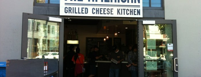 The American Grilled Cheese Kitchen is one of Tempat yang Disimpan Dan.