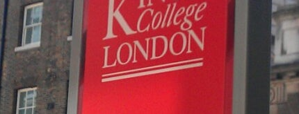 King's College London - Strand Campus is one of Ianさんのお気に入りスポット.