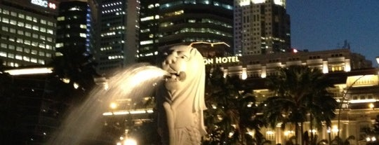 The Merlion is one of Guide to Singapore's best spots.