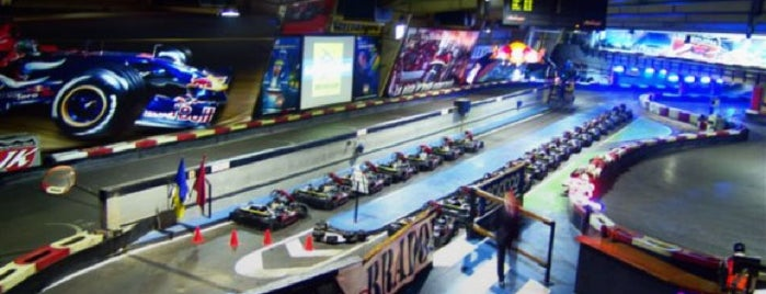 Indoor Karting Barcelona is one of Maria Releaさんのお気に入りスポット.