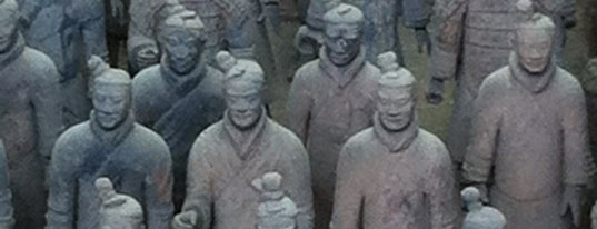 Museum of the Terracotta Warriors and Horses of Qin Shihuang is one of Before the Earth swallows me....